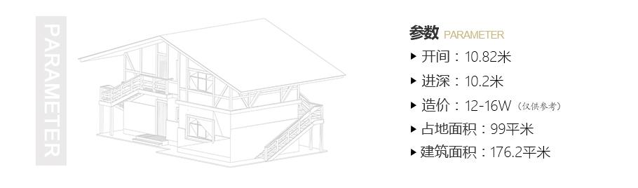 带堂屋农村二层小洋楼,100平不到,15万以内搞定,人人都能建!