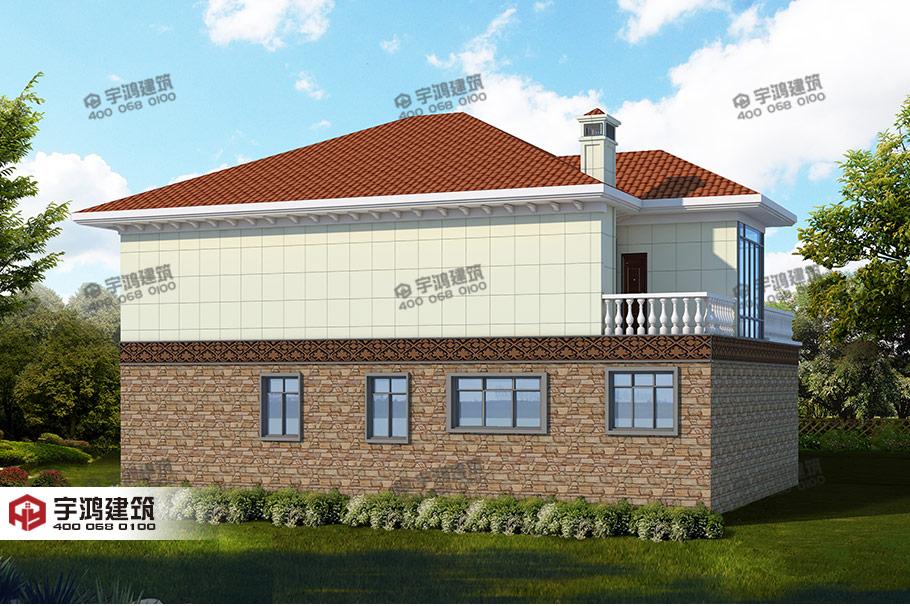 农村宅基地建房图纸,选户型不应该比高、比大、比豪华,精致实用就够了
