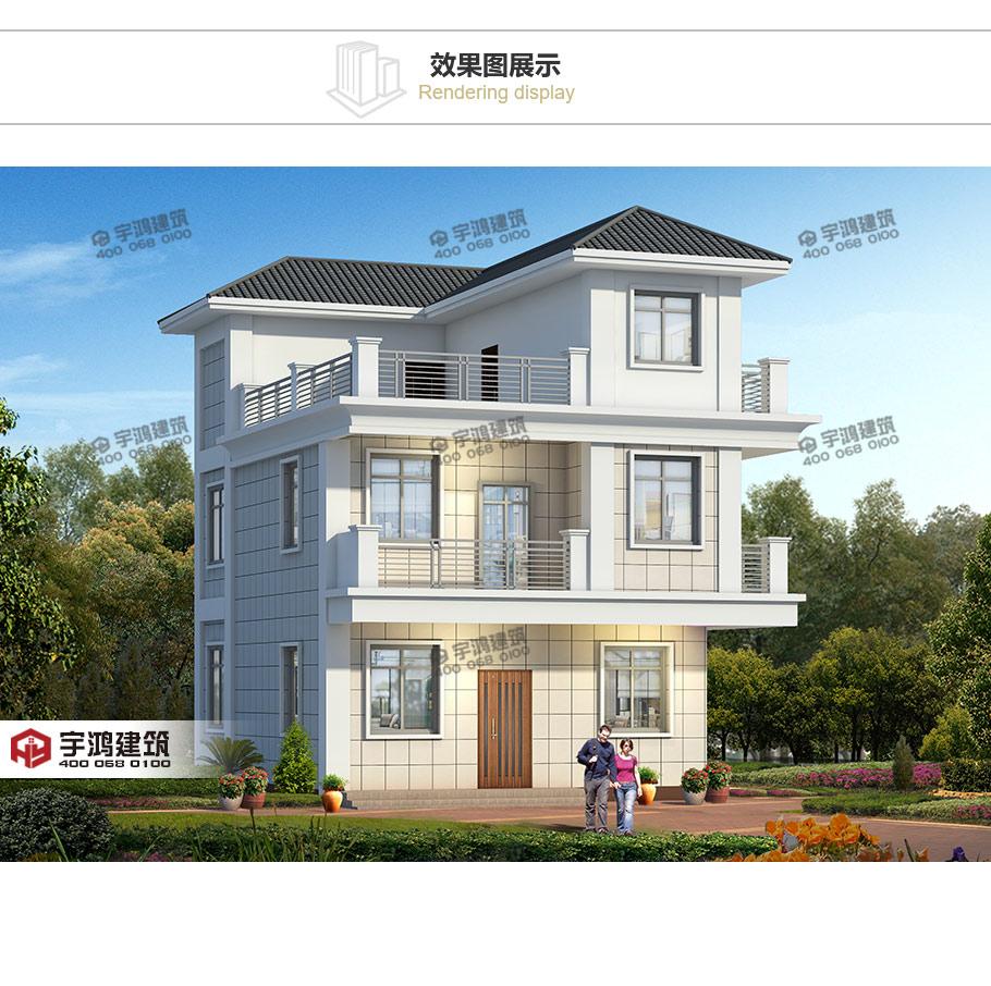 现代风格别墅设计