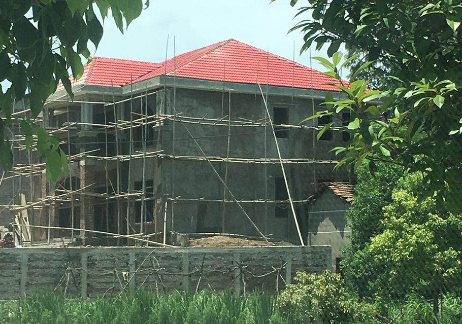 5卧室二层农村住宅设计图,尺寸12.8×11.2米,又一款风靡全村的别墅诞生