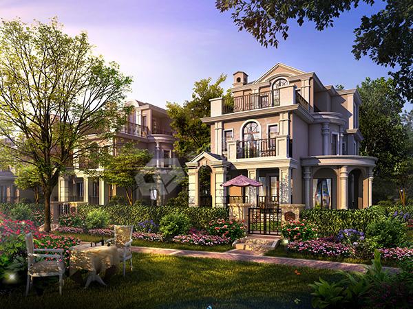 别墅园林设计要点和案例_别墅园林景观设计公司
