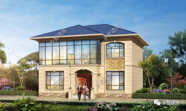 建一栋漂亮的2019年新款二层别墅设计图,欣然入住,过一世幸福美妙生活