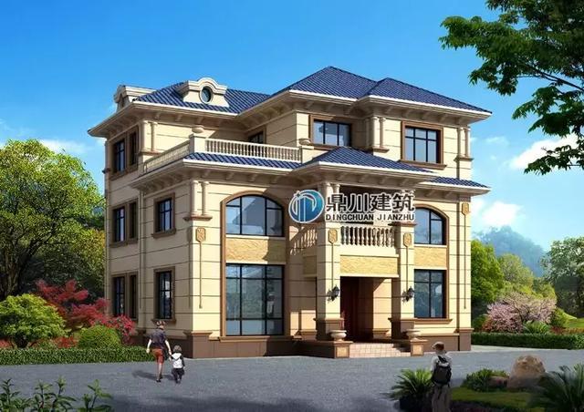 12款豪华大气农村小别墅设计图,住进去享受舒适居住体验,适合广大农村地区建造