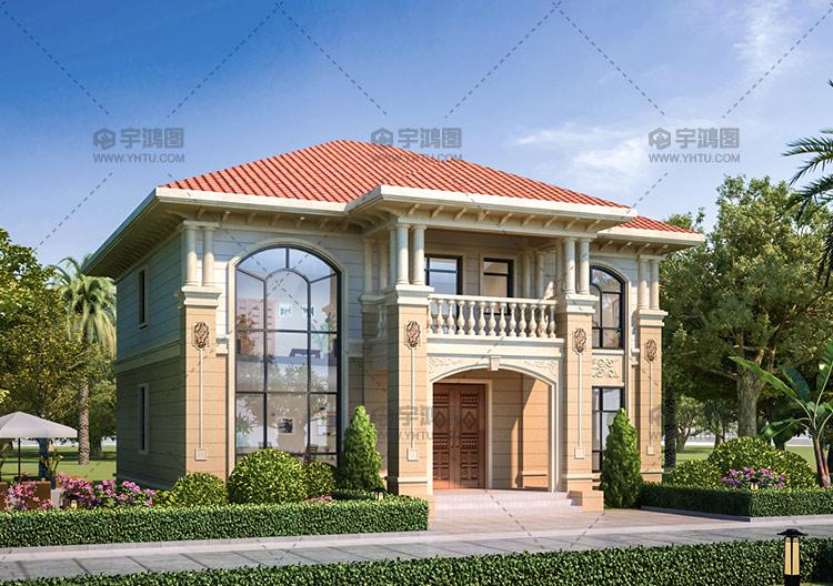 【注意】农村二层别墅这样设计,25万就能搞定主体,太划算了!