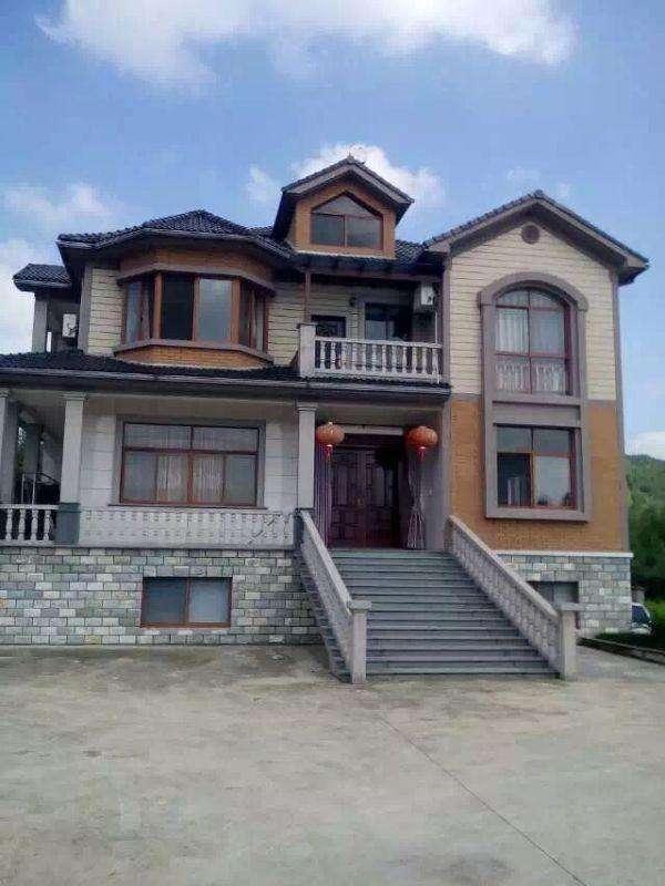 儿子回村为父母建房养老,别墅设计图纸及效果图,这样的别墅要多少钱?