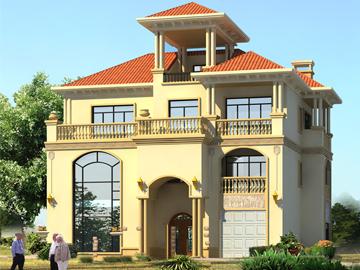 宅基地小该怎么建房?这套小别墅设计满足你!