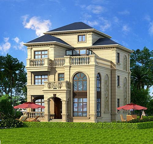 四种风格别墅大集合,总有一款是你喜欢的!