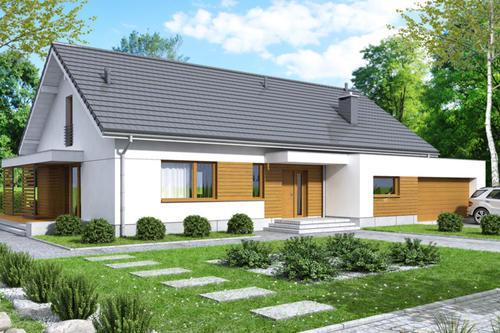 看看一层别墅设计,你的父母养老房就选一层别墅啦!