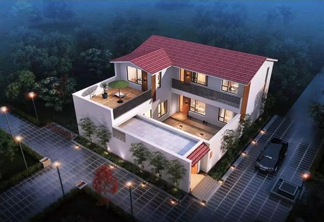 【别墅设计图】湖南这款中式别墅设计火了,220㎡三室两厅,便宜又好看