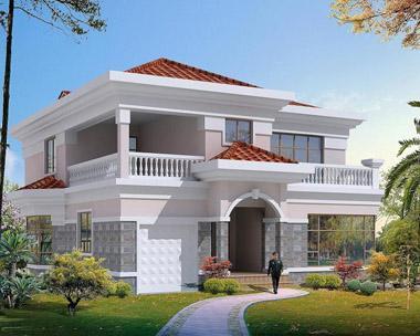 农村最热门的二层别墅,是你想要的吗别墅户型吗?