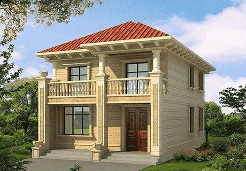 农村自建房-农村自建房设计图-这款132平欧式框架结构别墅设计图记得一定要收藏