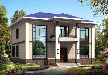 回农村建一栋精致,庄重,极富韵味的中式别墅,享受几代人聚集一堂的其乐融融!