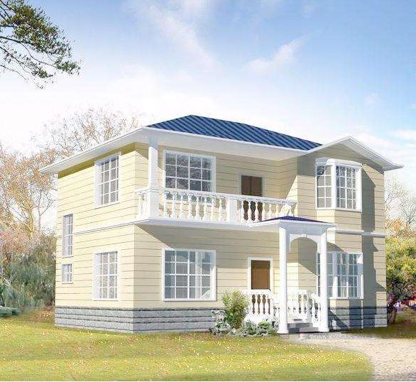 新型农村别墅设计图-农村自建房小别墅设计图这个网红款一定要收藏