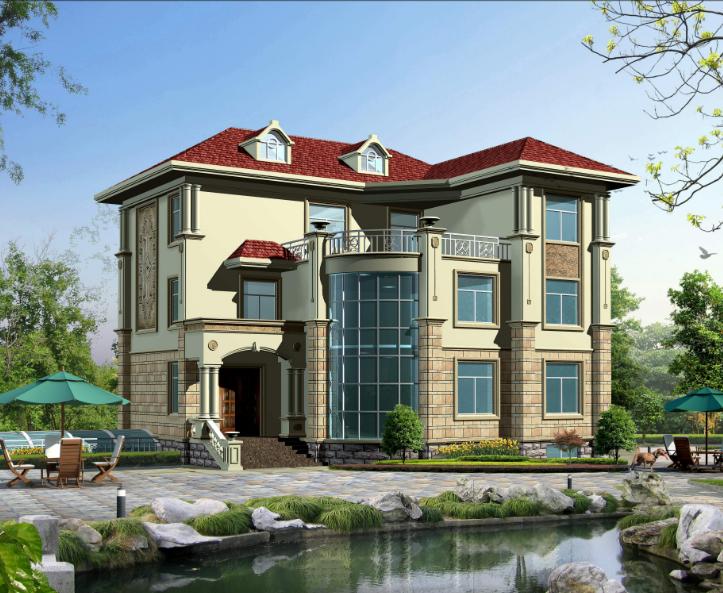 别墅可以自己设计吗?在农村修建别墅要多少钱?