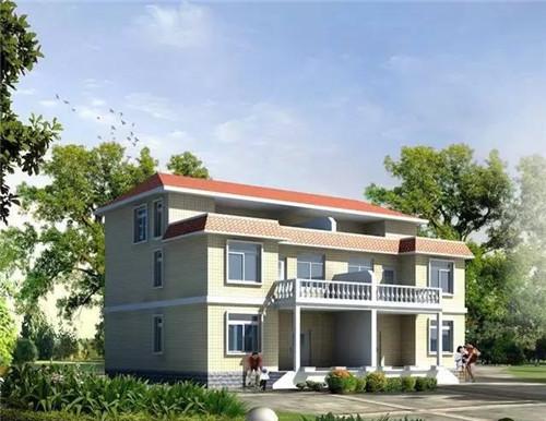 农村自建房两层经济型别墅推荐设计
