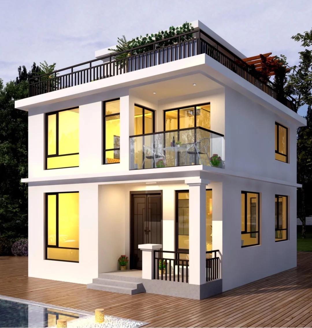 自建房户型太小?这样设计既实用又美观!