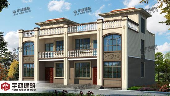 湖南中式别墅施工案例