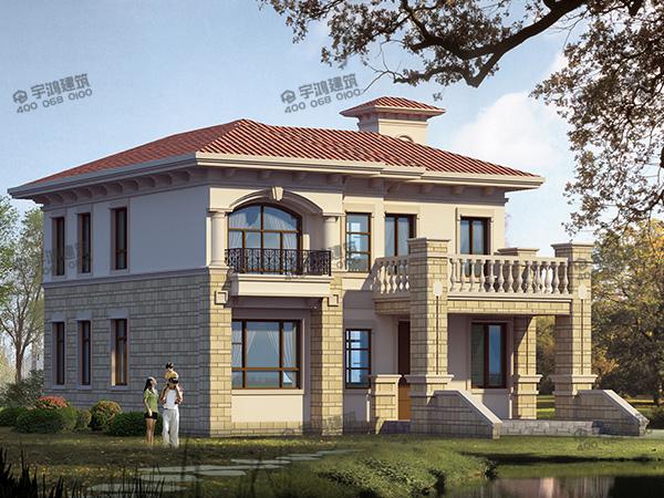 2019年新款高端私人定制设计的西班牙小别墅设计图纸,让你的房子独一无二,脱颖而出