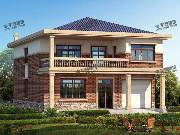 农村小别墅房屋设计平面图含cad图,施工队看了马上就会建