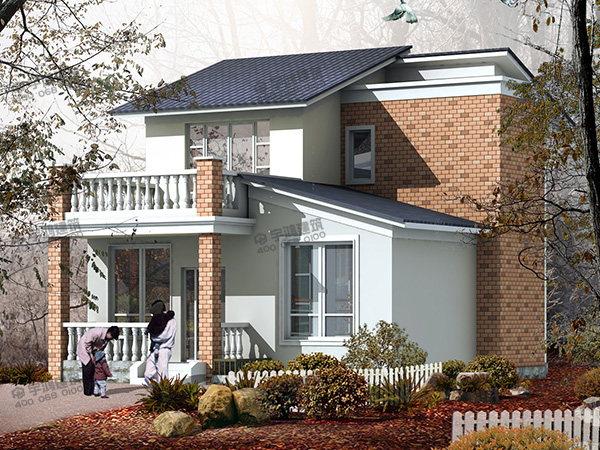 9x11米二层农村建房设计图纸附施工图,厨房有柴灶,空间利用率高,户型能满足全家人的需要