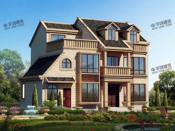 长13米宽8米农村房子设计图纸,有好的户型设计才能建出符合人心意的房子