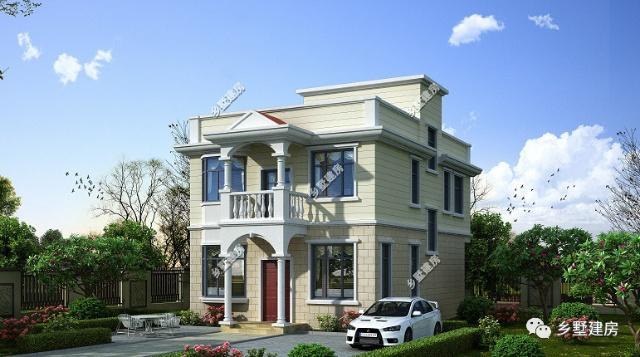 8X12米农村两层小别墅户型设计图,价格低的超出你的想象,谁不想拥有?