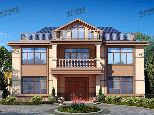 13米x9米自建房设计图纸,看起来其貌不扬的小别墅,竟然预制板就花了十八万?