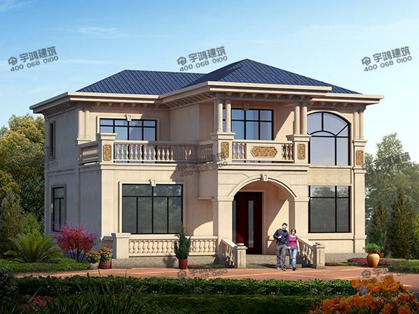 农村简单2层房屋设计图,造价低且实用,堪称经典之作,建的人极多