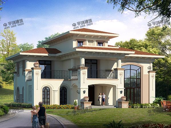 2019年豪华新款别墅,跟城里豪宅一样,建在农村却要少花好多钱