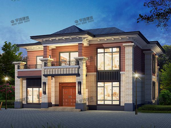 24万主体可建的两栋二层别墅,当下时髦户型,见过的人都想建