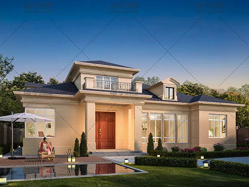 2019年新款农村平层别墅设计图纸,建一套农村平房,也能住着舒服,而且还有面子
