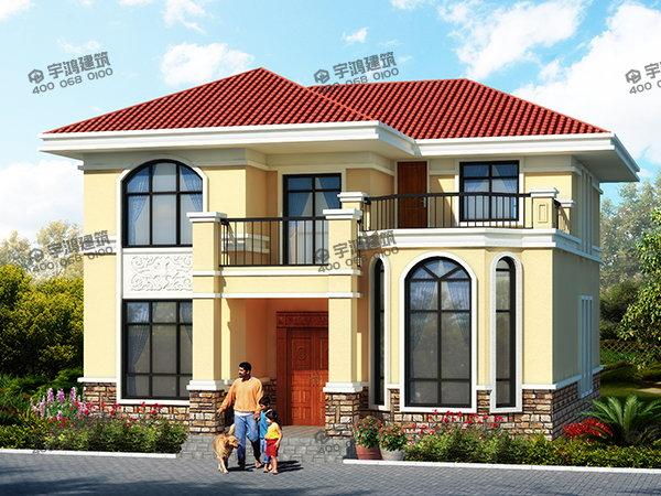 北方农村房屋设计图,建在河北农村,主体造价20万以内