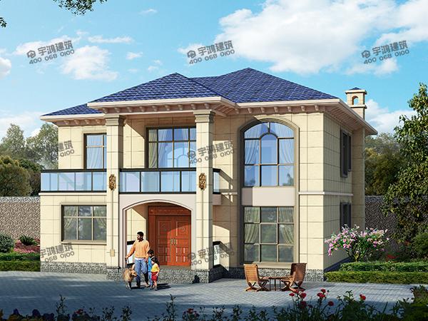150平农村小别墅图片,批地建房不容易,要建就要建好