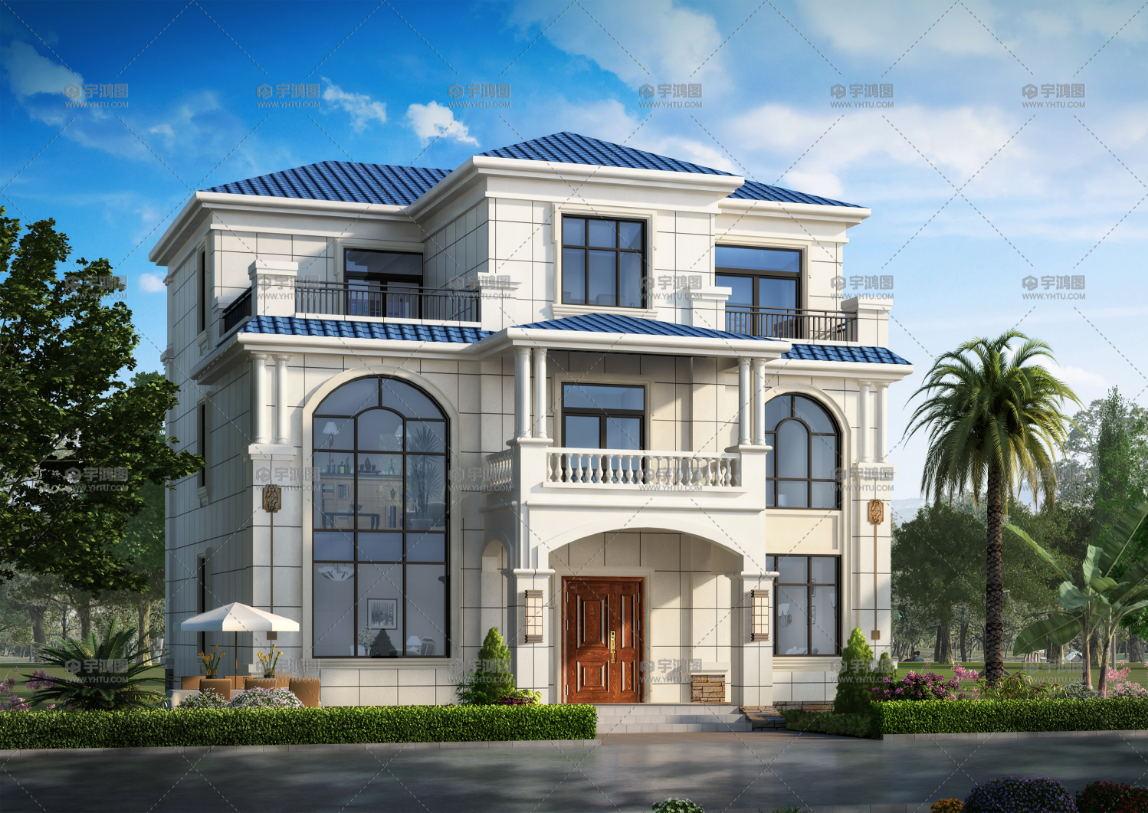 10款漂亮又大气的别墅,选一栋建在老家,你就是村里最靓的仔!