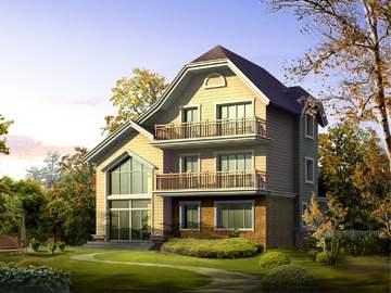 经典型农村欧式简约二层小洋房设计图纸,轻轻松松就能拥有村里人都羡慕的房子!