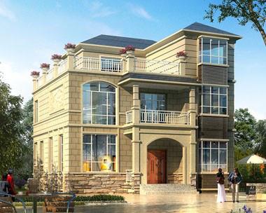 欧式别墅在人们心中的地位为什么这么高?2020年最新款农村别墅设计图纸大全-鸿宇建筑【免费下载】