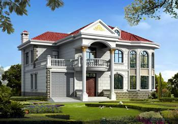 小二层欧式别墅设计的美观实用,看了的人都说好!