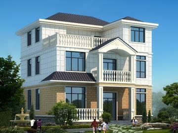 优雅的简欧式三层别墅,还有屋顶花园休闲娱乐是在太妙了!