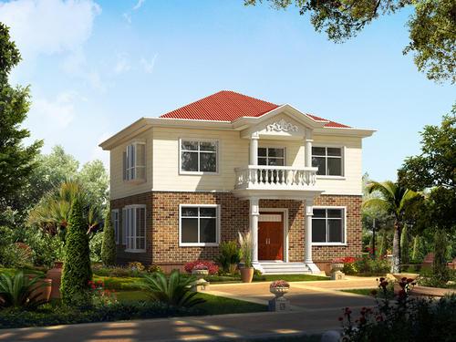 一款舒服又实用的农村别墅,一家人住着和和美美!快意十足!