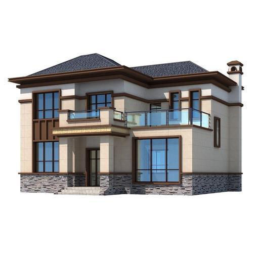 惊艳朋友圈的二层乡村别墅,大气典雅,建成后最抢眼就你家!