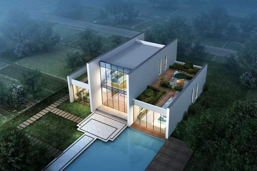 自建农村别墅,四合院别墅,小别墅设计图,别墅装修改造时需要注意哪些问题