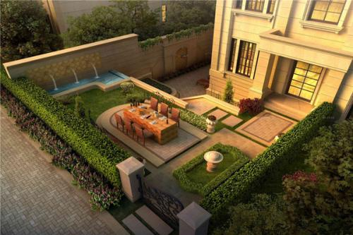 别墅设计-别墅庭院怎么装修好?别墅庭院装修设计理念和讲究