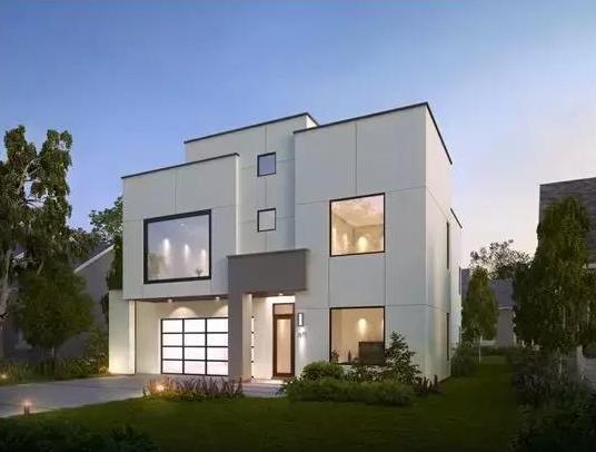 农村现代风别墅造价多少?