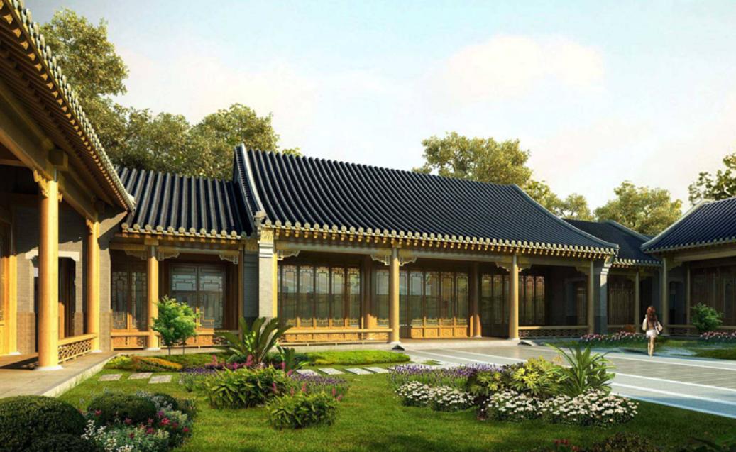 现代四合院建筑怎么设计?