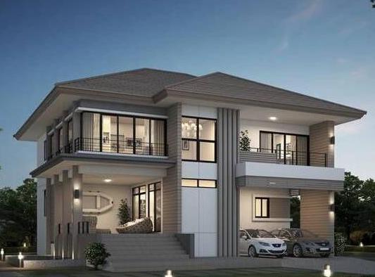 造价40万农村自建房两层经济型别墅推荐