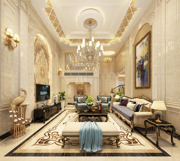看起来就很有钱的欧式风格别墅来啦!