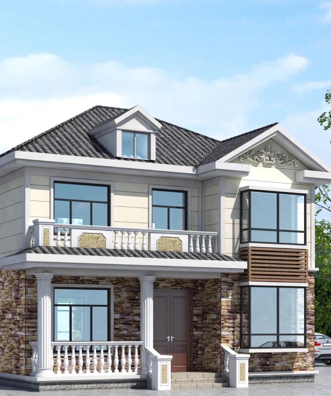 新中式二层小别墅