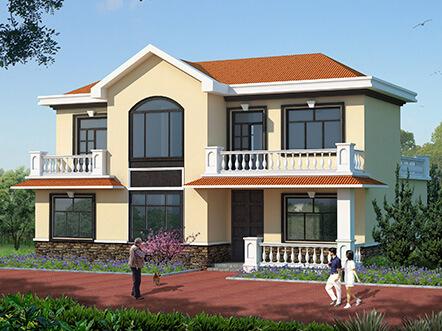 自建二层复式楼设计图,建别墅最重要的是图纸,只有在正规网站才能买到合格图纸