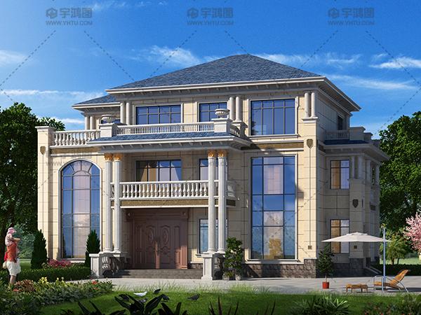 晒晒我家的新房子,主体40万加外装花了10多万,亲戚朋友都夸它美