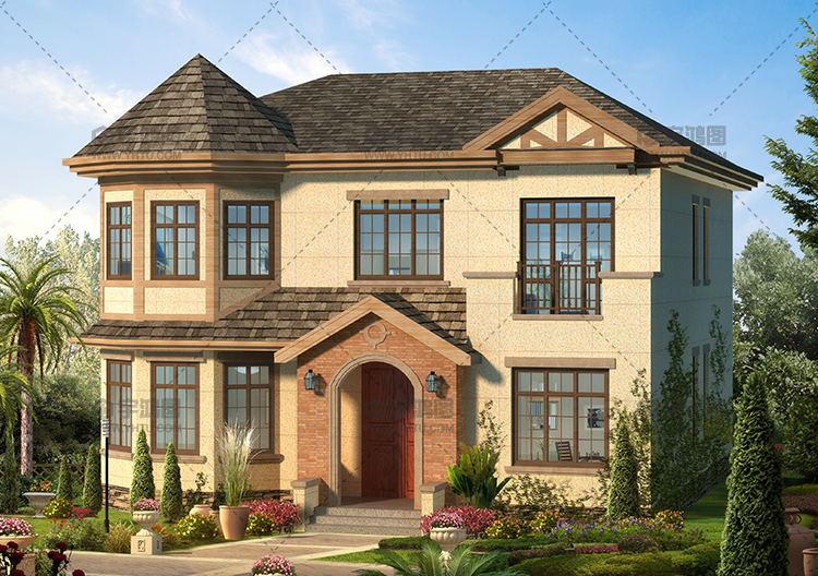 40万英式风格农村自建房设计图纸